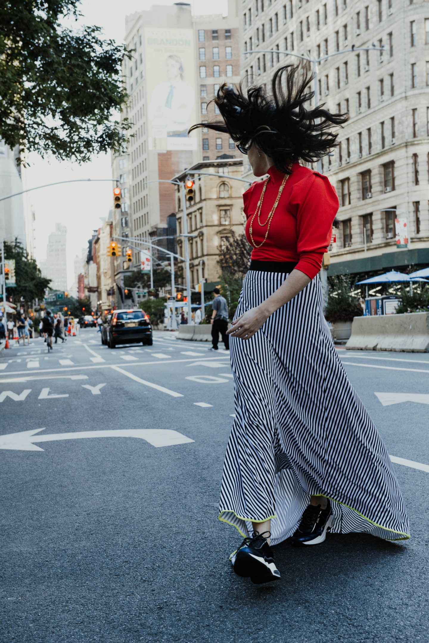 Free People Lala Knit Crop Top Rent The Runway x Ventura Kaia Sneaker Karl Kaia Revolve x Aimee Neilsen Design Skirt x Poppy Lissiman Le Skinny