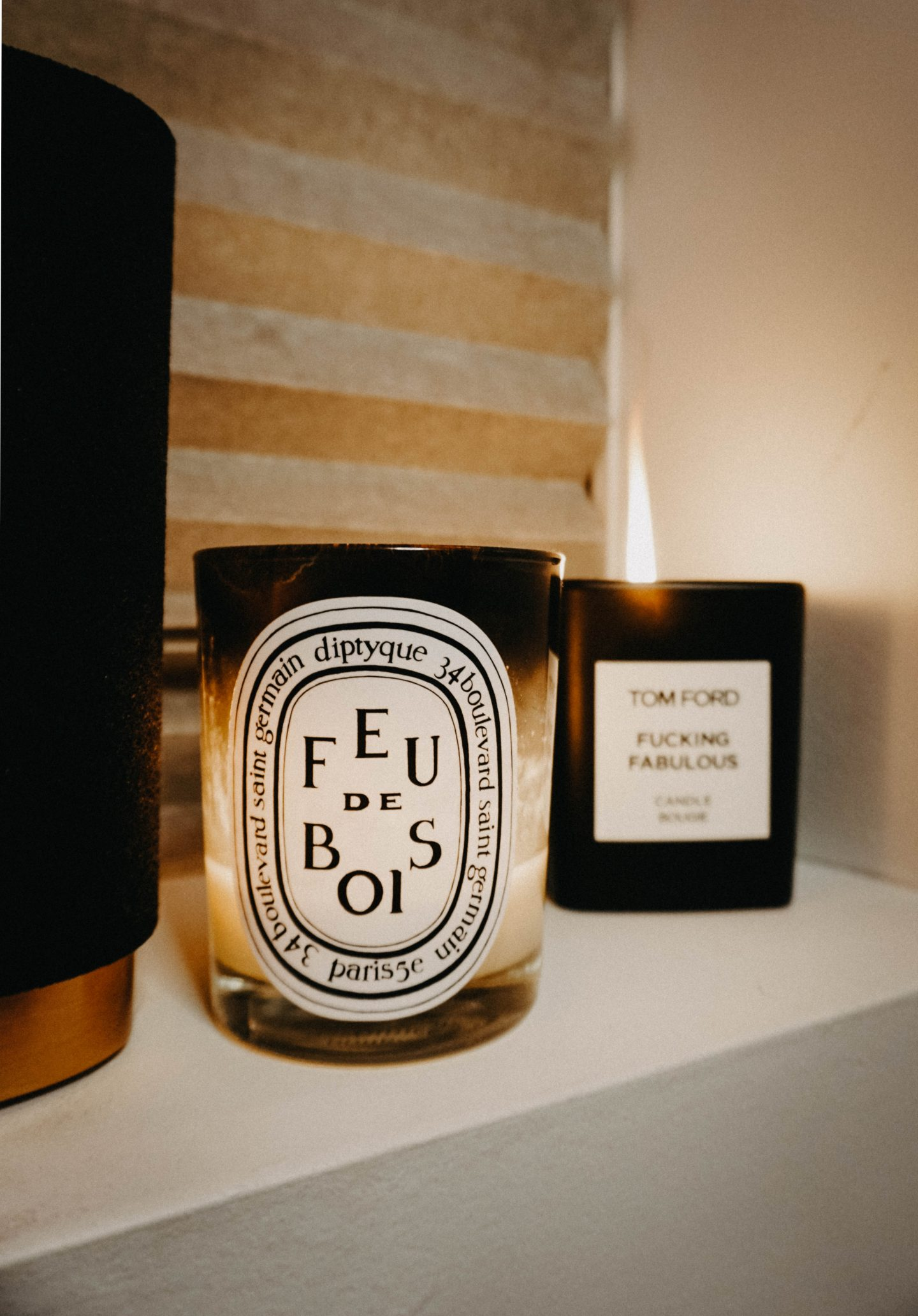 "Candles That Won't Make Your Significant Other Go ""ICK"" x Boy Smells Tom Ford Fucking Fabulous Candle"