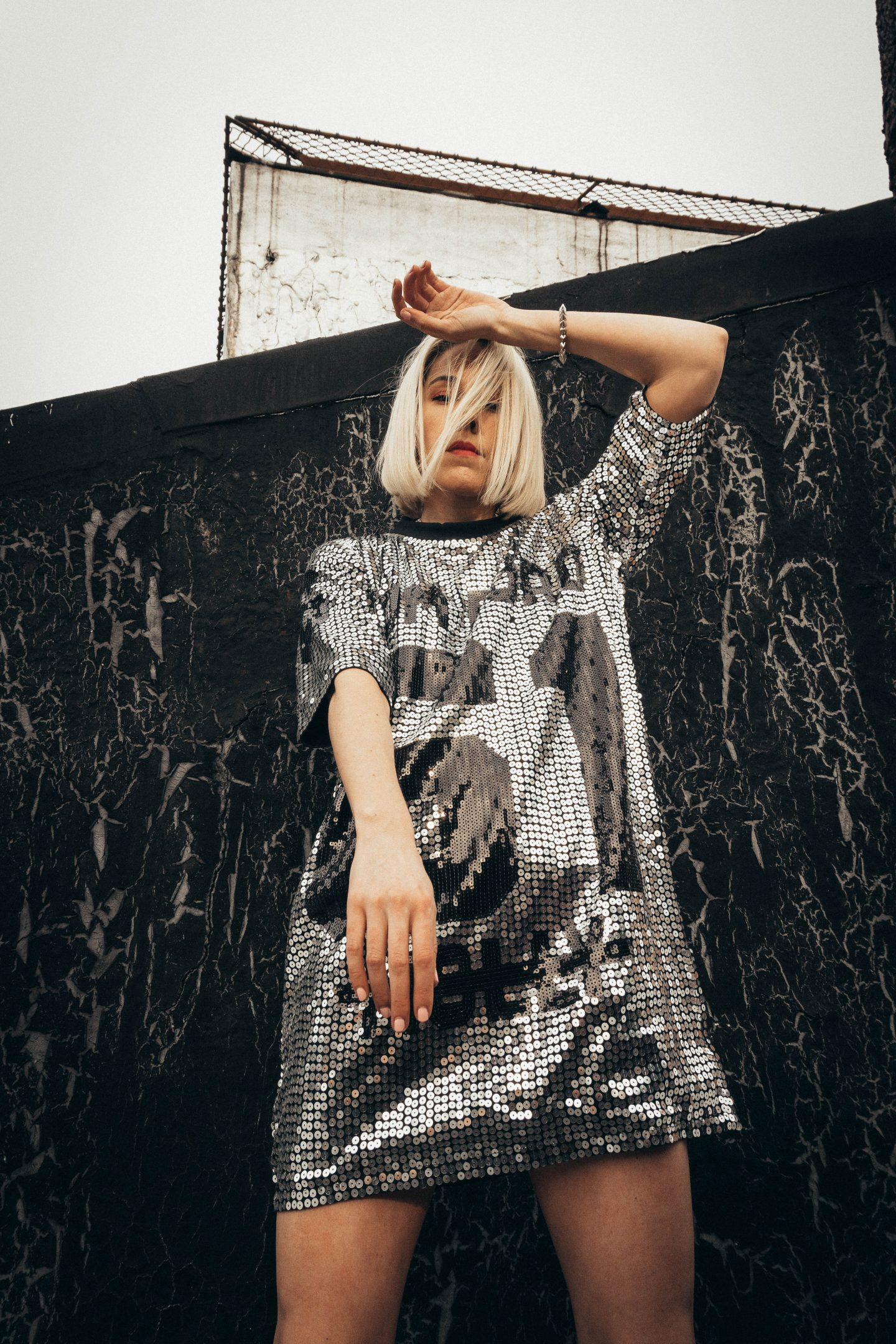 Sequin Tom Ford Jersey Dress Amazon x Spotify Playlists